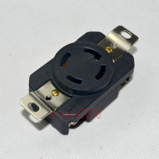 NEMA L14-30R 125//250V Twist Locking Electrical Plug Female Wall Receptacle wtt