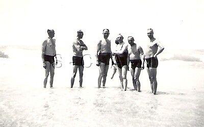 WWII Original German RP- Semi Nude- Gay Interest- Bathing