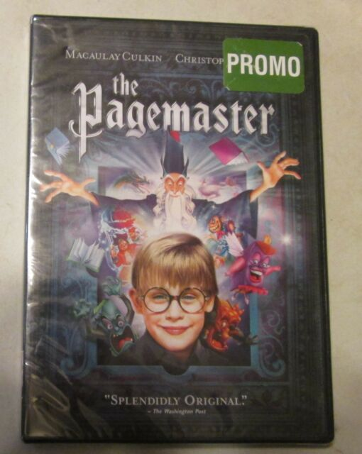 The Pagemaster DVD New Sealed Promo Copy