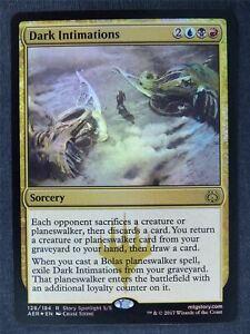 Dark Intimations Foil - Mtg Magic Cards #M3