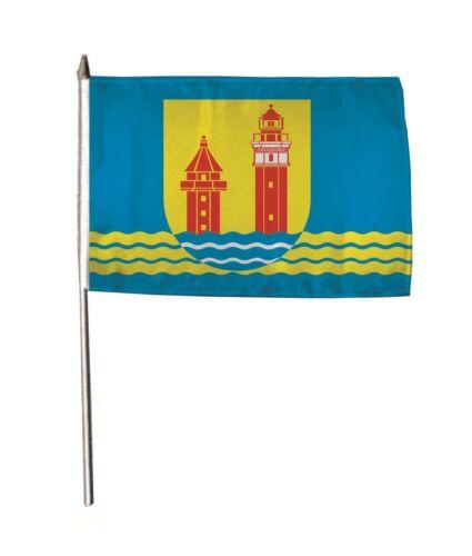 Stockflagge Fahne Flagge Dahme 30 x 45 cm