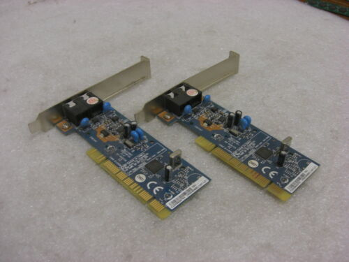 LOT OF TWO Dell 0n8507 conexant rd01-d850 modem pci card