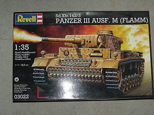 revell 1 35  Maquette Panzer III Ausf.M (Flamm) 1/35 Revell 03022 | eBay