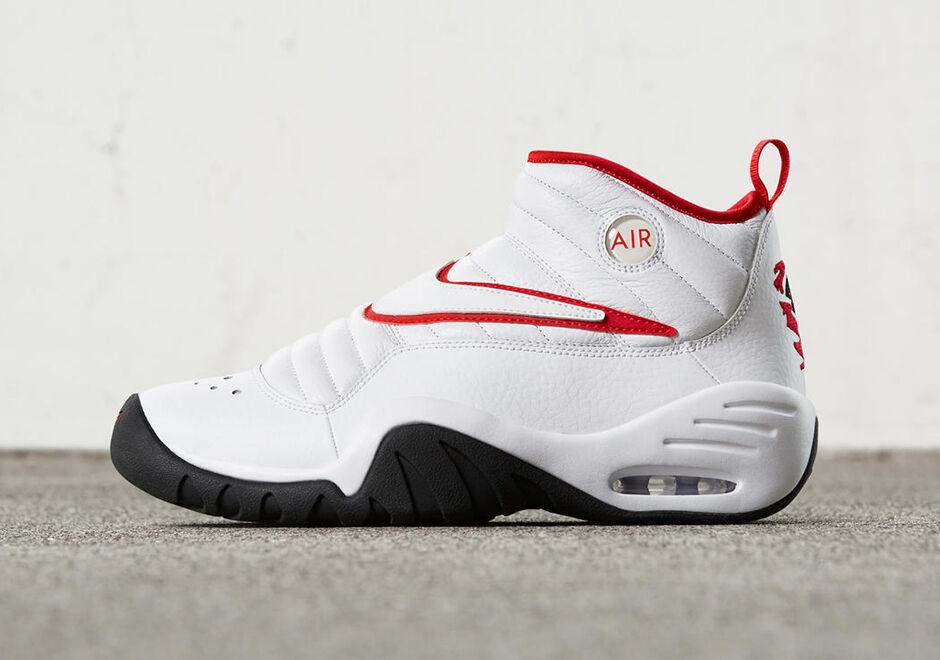 buy popular 716de 16854 880869 2017 Nike Air Shake NDESTRUKT size 13 13 13 Red White Bulls Dennis  Rodman. 880869 ...