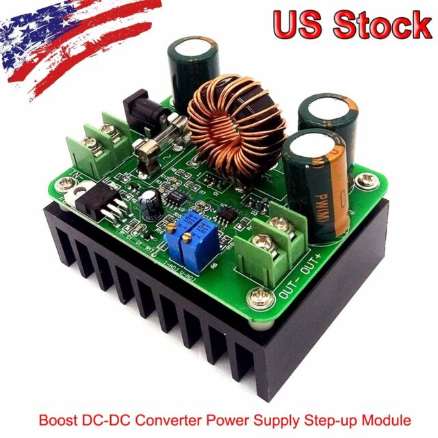 600W DC Step Up Módulo Convertidor 15A 12V-60V a 10A 14V-80V Boost Converter