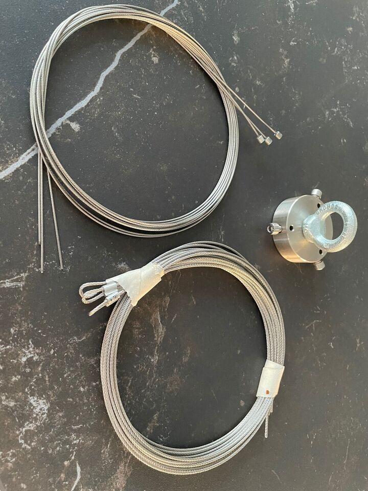 Poul Henningsen, Ophæng og wire til koglen, Loftlampe