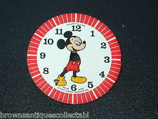 VINTAGE MICKEY MOUSE WATCH DIAL FACE 1969 DISNEY PHINNEY WALKER NEW OLD STOCK UK