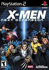 X-Men: Next Dimension (Sony PlayStation 2, 2002)