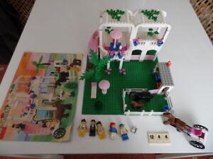 Lego-System-6418-Paradisa-Country-Club-Reiterhof-komplett-mit-Bauanleitung