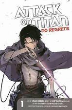 Attack on Titan No Regrets: Attack on Titan: No Regrets 1 by Gan Sunaaku and Gun Snark (2014, Paperback)
