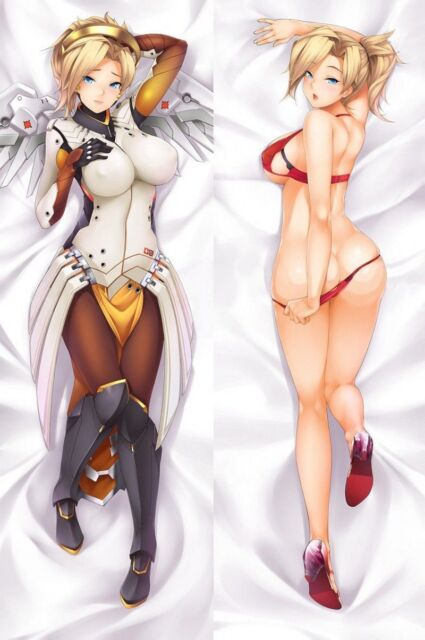 OW Mercy Otaku Hugging Body Pillow