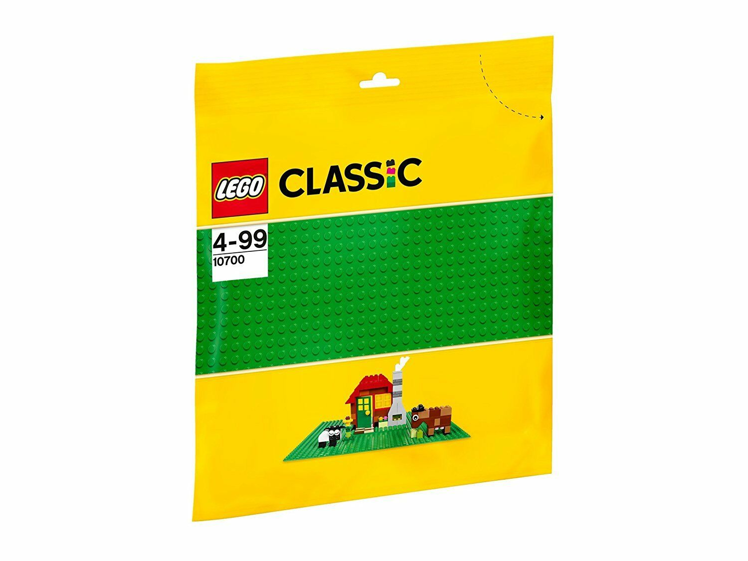 LEGO Classic 10700. Base colour Green. Starting from 4 years