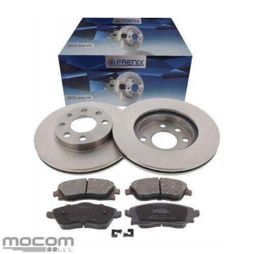 Bremse Bremsscheiben Bremsbeläge Vorderachse vorne für Opel Corsa C mit ABS