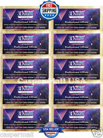 CREST Whitestrips 3D White LUXE Professional Effects 10 Pouches / 20 Strips NEW