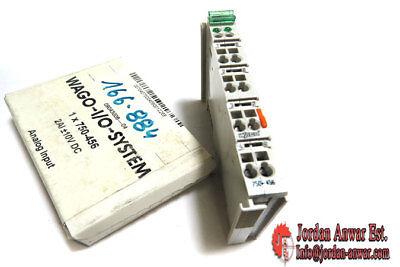 // 10V Wago 750-456 2 channel Analog input