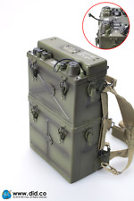 DiD Paul WW2 Radio Set w/ Harness, Antenna, Handset, Headset: 1/6 scale