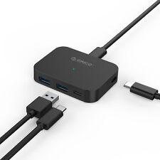 ORICO USB C Hub with 2 × USB 3.0 Type C Data Port & 2 × USB A 3.0 Port for Apple