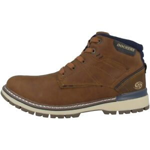 Details zu Dockers by Gerli 43AD001 Schuhe Herren Boots Stiefelette Schnürer 43AD001 650470