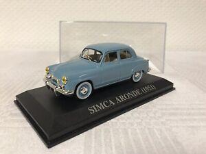 1-43-Simca-Aronde-1951-Geschenk-Modellauto-Modelcar-Scale-Oldtimer-Spielzeug-Rar