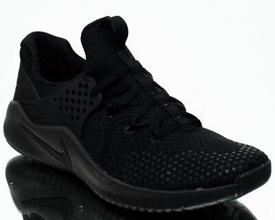 d4d8497cf52 Nike Free Trainer V8 Men Black Black Black Crossfit Training Shoes  AH9395-003