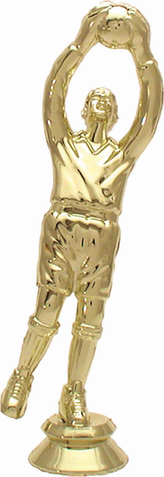 22 figuras de fútbol portero 15cm Color oro  4 (trofeos medallas torneo)