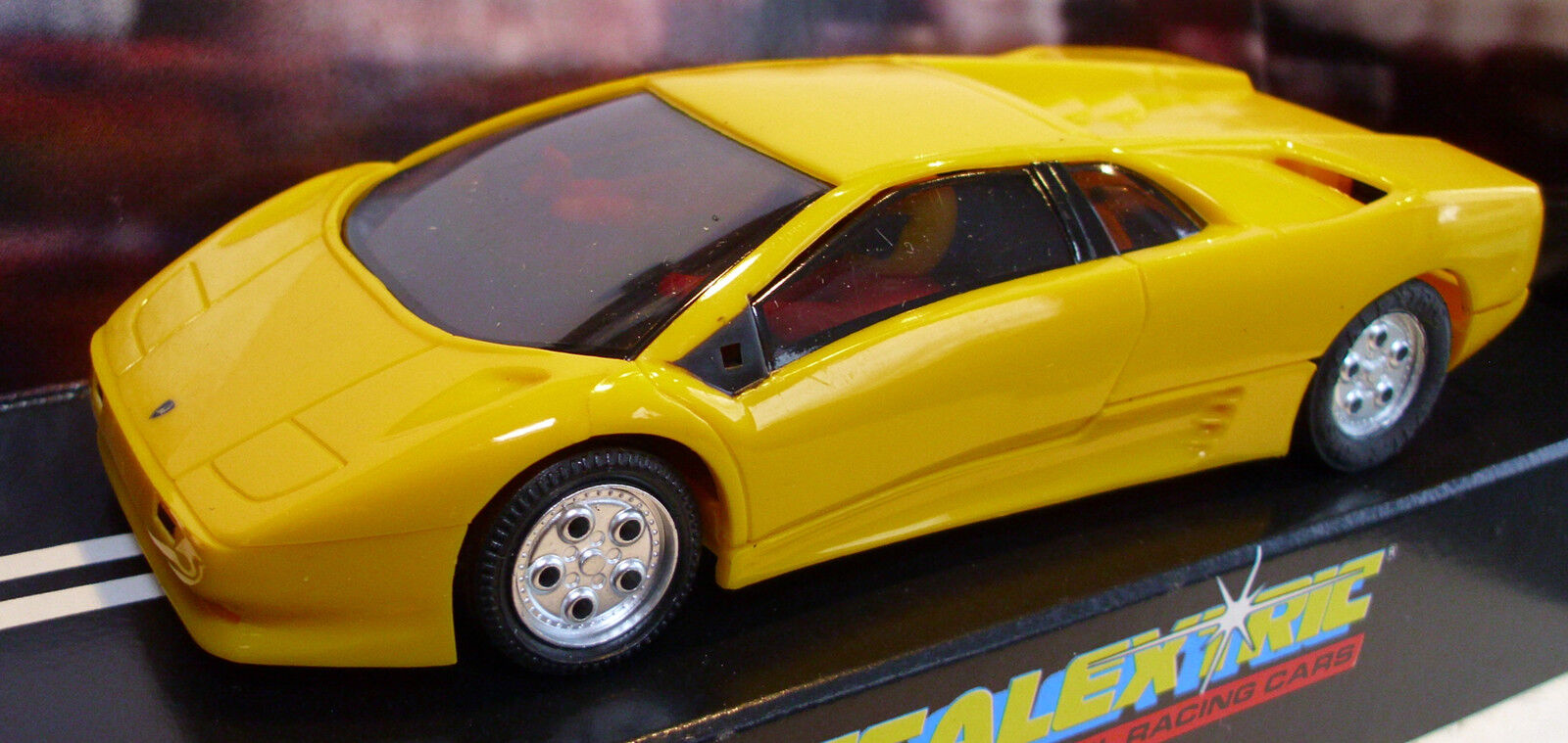 Scalextric C127 Lamborghini Diablo - Yellow - Rare Car - Brand New Boxed