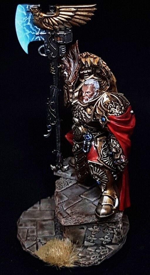 Trajann Valoris Adeptus Custodes Commission Superbly Painted Warhammer 40K