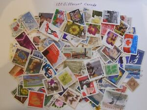Hoard-Of-2-million-Used-CANADA-Stamps-100-To-1500-ALL-DIFFERENT-Fine-To-veryFine