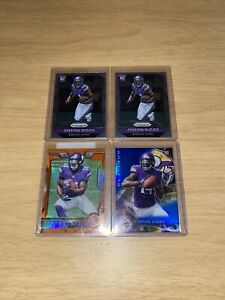 RC-LOT-OF-4-2015-PANINI-STEFON-DIGGS-ASSORTED-ROOKIE-LOT-MINT-OR-BETTER