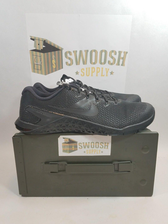Nike METCON 4 SELFIE Cross Fit Training Shoes AH8194 001 Womens Sz 12 New