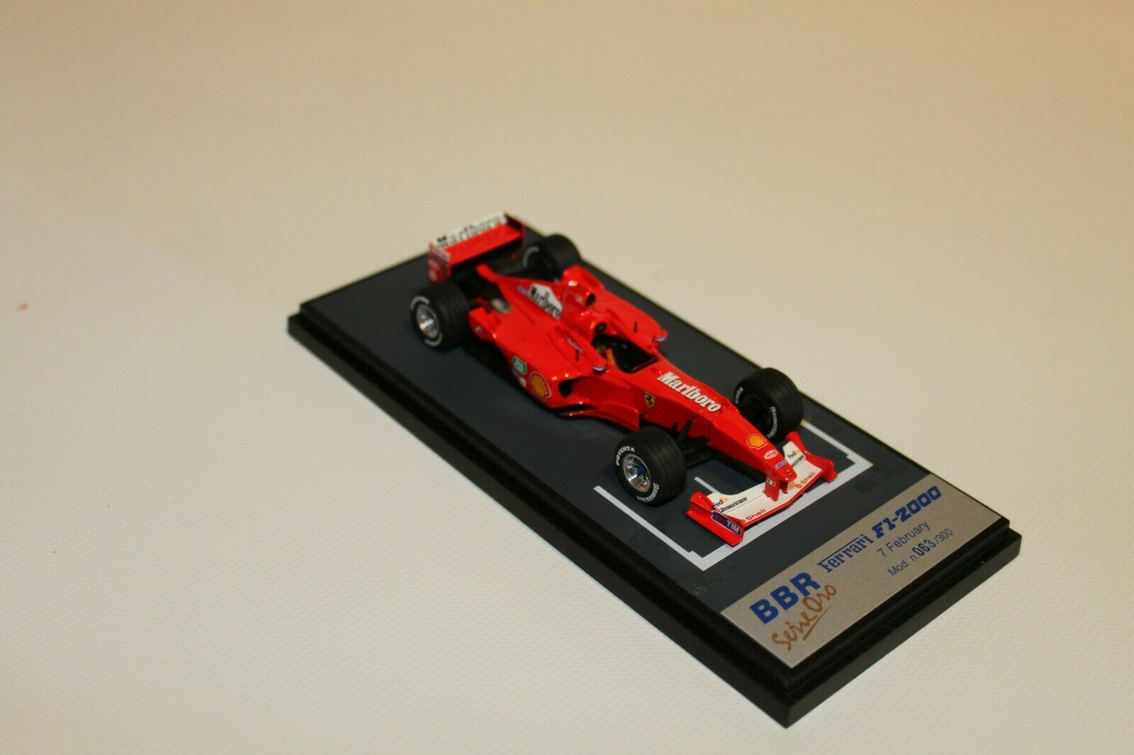 BBR BG193 Ferrari F1 - 2000 Press Version 7 02 2000