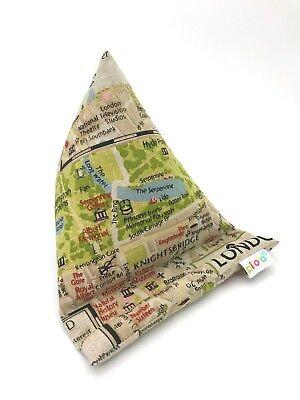 Small Techcushion Mobile Phone Cushion Pilllow Stand Pilola London Map