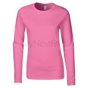 Gildan-Softstyle-Womens-Long-Sleeve-T-Shirt