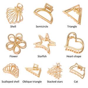 HOT-Women-Geometric-Hair-Claw-Hair-Holder-Claw-Hollow-Hair-Clips-Hair-Crab-Clip