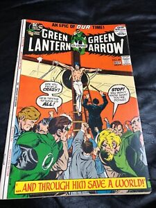 Green-Lantern-89-Green-Arrow-Neal-Adams-Art-Higher-Grade-Bronze-Age-Beauty