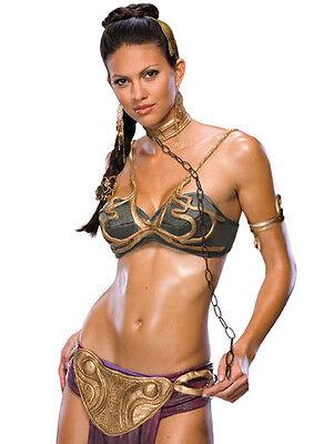 PRINCESS LEIA SLAVE Costume Sexy Star Wars XS(0-2), S(6-9), and M(10-12)