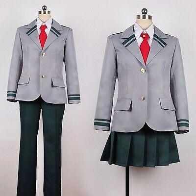 Anime Boku no Hero Midoriya Izuku Bakugou Katsuki School Uniform Cosplay Costume