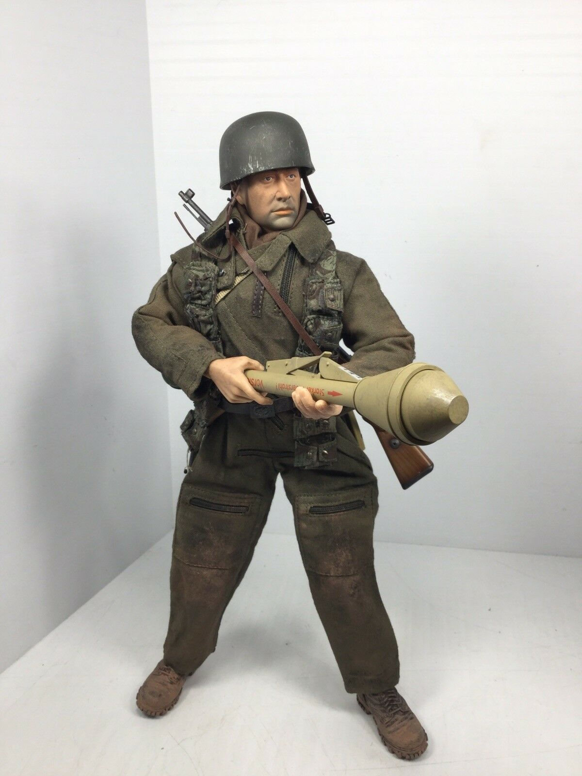 1 6 DRAGON GERMAN LUFTWAFFE 9TH FJ DIV PARATROOPER K-98 PANZERFAUST WW2 DID BBI