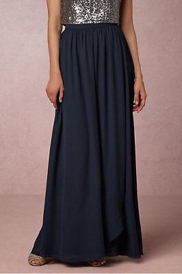 BHLDN Anthropologie Hitherto Beatific Ball Skirt Aubergine NWOT Size 8 $800