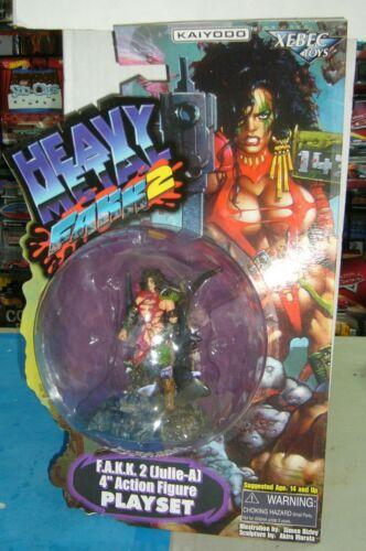 Heavy Metal FAKK 2 Julie-un jeu signé Kevin Eastman Simon Bisley JULIE STRAIN