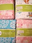 Circo Flannel Sheet Set:Pink Cat Kitten Bunny Unicorn Yeti Snowball Twin Full
