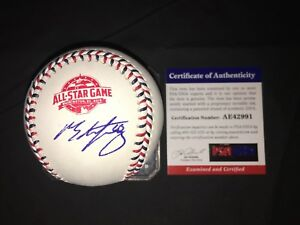 Ross Stripling Signed Official 2018 All Star Baseball Los Angeles Dodgers PSA