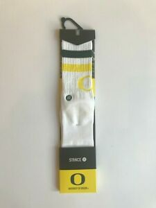 STANCE-University-of-Oregon-Ducks-Athletic-Socks-034-Oregon-Ducks-2-034-Sz-Large-NWT