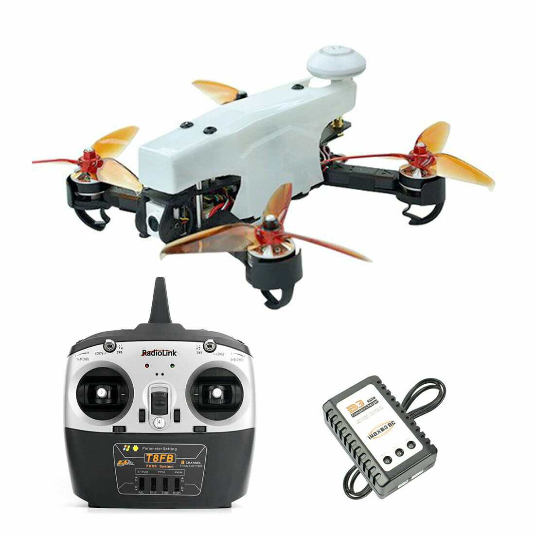 JMT 210 FPV Racing Drone Quadcopter RTF with Radiolink T8FB TX RX High Speed