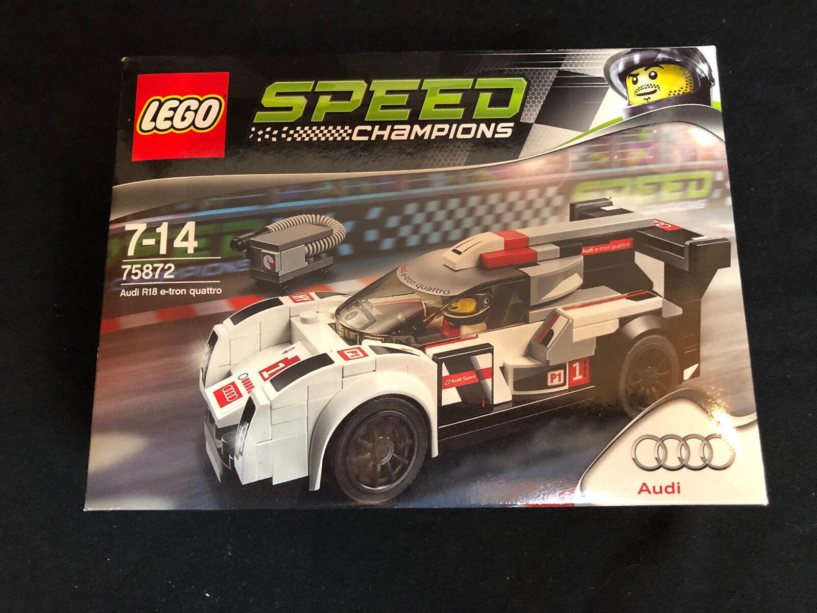 Lego 75872 Speed Champions Audi R18 e-tron quattro Serie 2 Neu New OVP MISB