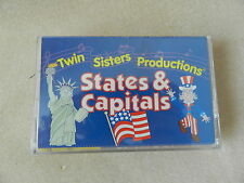 States and Capitals Rhythm Rhyme & Read Book & Cassette Set Twin Sisters