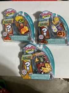 Taco Time Rise /& Shine Totally Tiny TACO Lot Of 3 Build Your Own Pizza Party