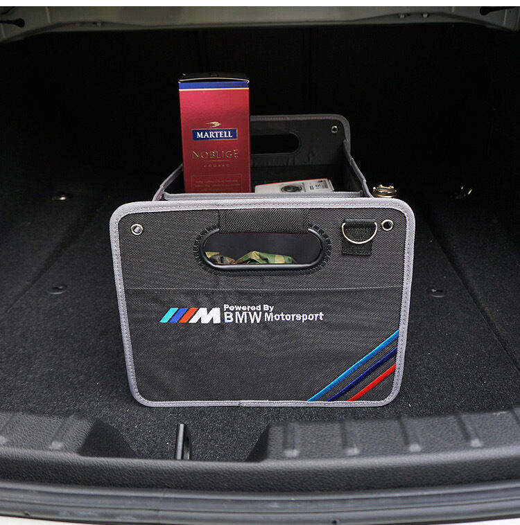Bmw Motorsport M Boot Trunk Organizer Collapsible Folding