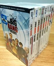 THE BIG BANG THEORY Seasons 1-9 Complete Series Season 1 2 3 4 5 6 7 8 9 DVD NEW