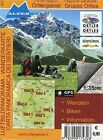 Ferienregion Ortlergebiet / Regione Vacanze Gruppo Ortles 1 : 35 000 Luftbildpanorama & Wanderkarte (2010, Mappe)